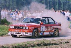 BMW E30 M3 rally car - Group A - Belgium