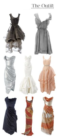 the grey dress in the the top right for going to a wedding...