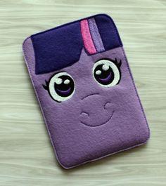 Felt Pony IPad Mini sleeve Case Inspired by fancystitchescouture, $15.00