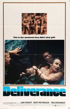 "Deliverance (1972) Vintage One-sheet Movie Poster - 27""x 41"""