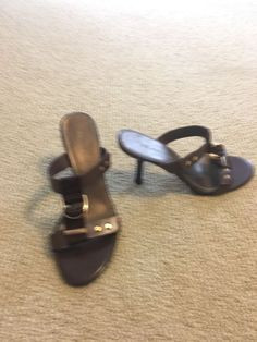 38ec6c4ebc9 Extra Off Coupon So Cheap ak sandals brown leather with gold details M cute  and in good condition