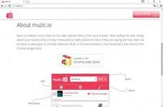 Muzic.io ads est une extension de navigateur méchant qui se prétend comme un programme utile.