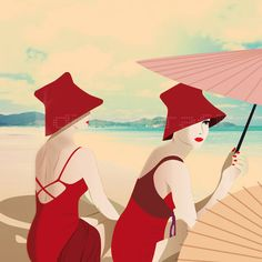 Summer holiday von Miss Cherry auf Etsy