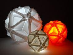 pichon: origami luminoso