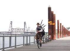 Portland Bike Guide 2014: The Unipiper, Brian Kidd