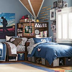 Attirant Guitar Teenage Boy Bedroom Ideas | Комната мечты
