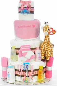 Giraffe Diaper Cake @Theresa Howe @Laura Carroll