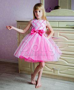 Платье Джени малиновое