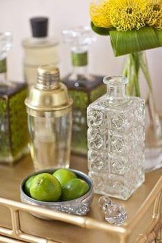 luscious bar carts - cocktail trays - via society social_c_grande | www.myLusciousLife.com
