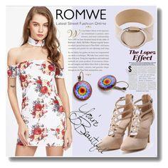 """""""Romwe 10"""" by crvenamalina ❤ liked on Polyvore featuring Jennifer Lopez"""