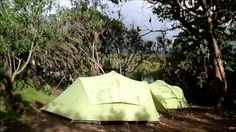 What's it like camping on your Kilimanjaro climb?  #kilimanjaro #kilimanjarocamping #camping #africa