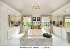 Luxury Master Bathrooms   Luxury Master Bath Stock Photo 27649663 : Shutterstock