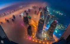 Dubai from the Sky #dubai #sky #photographs