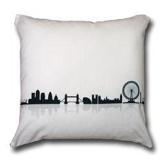 London Skyline Cushion Cover | Kick Ass Cushions