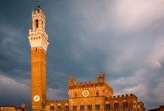 Palazo Publico, Torre del Mongia (Sienne - Italy) - Photo : Renaud Cornu-Emieux
