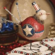 Hooray for the red, white and blue bird
