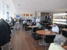 Review: Swiss Panorama Lounge Zurich - Review of the Panorama Lounge Zurich Airport, located in the E Concourse. This lounge is used by airlines flying out of the concourse, including Swiss.