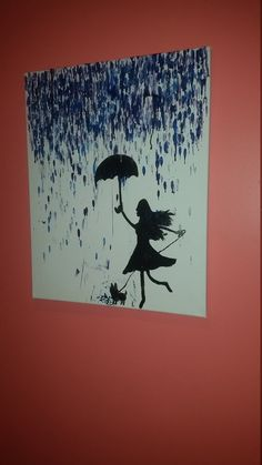 Check out this item in my Etsy shop https://www.etsy.com/listing/267370948/girl-with-her-dog-in-the-rain