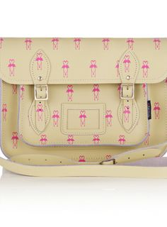 Oliver Bonas 'Zatchel Flamingo Print Bag'. WANT