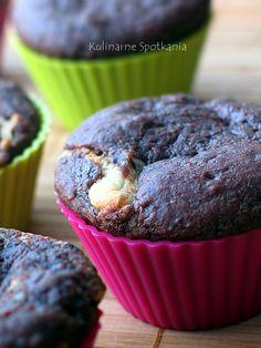 Kulinarne Spotkania: Kakaowe muffiny z serem