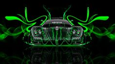 Monster Energy Pagani Zonda C12 Front Plastic Car