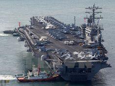 Ngày 7/1 giới chức quốc phòng Mỹ cho biết đến năm 2024 số lượng tàu sân bay của nước này sẽ tăng lên đáng kể.
