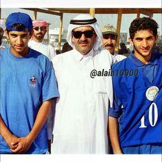 Hamdan bin Mohammed bin Rashid Al Maktoum, Hamdan bin Rashid bin Saeed Al Maktoum y Rashid bin Mohammed bin Rashid Al Maktoum. Vía: alain10000