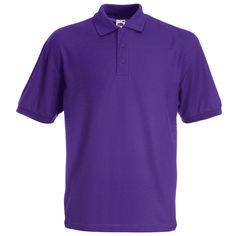 Fruit of the Loom Value Polo Shirts. Great range of colours - choose embroidery or printing. Smart promotional clothing for your team.