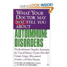 Autoimmune disorders are not well understood and therefore difficult to treat. The result is that there are millions of Americans who are suffering because they aren't being diagnosed properly, or getting the correct medical treatment they need. Here, Dr. Edelson discusses the most common types of autoimmune diseases, including lupus, Chron's disease, thyroid disease, rheumatoid arthritis, and chronic fatigue syndrome, outlining their symptoms, causes, and risk factors.
