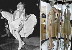 Marilyn Monroe dress from 'The Seven-Year Itch' sold for $4,600,000 in June of 2011. The dress belonged to Debbie Reynolds