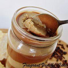 Fragrant Vanilla Cake: Raw Marble Cake Batter Nut Butter