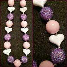 Valentine's day necklace!  www.facebook.com/jcloynecreations