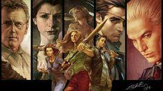 Love this Comic Fan art of Buffy