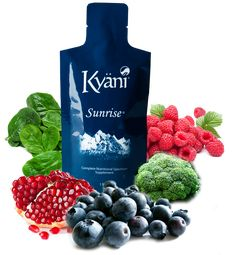 Kyani Sunrise is a combination of powerful Superfoods and vitamins.
