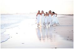 Five cousins made a decision that once the last of the group get married, they would all get back into their dresses one last time & do a photo shoot. Would be so cute to do w/close friends.