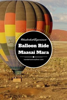 Wondering what it's like to take a hot-air balloon ride over Maasai Mara National Reserve in Kenya? Check out this incredible wanderlust experience.