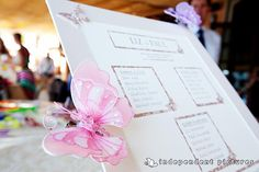 butterfly themed wedding