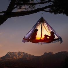 Hanging Cabana Tent - Take My Paycheck | The coolest gadgets, electronics, geeky stuff, and more!