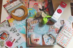 Der Inhalt unserer Geschenke-Tüte, die alle Blogger-Finalisten erhalten haben. Habe mich besonders gefreut, dass auch meine Freundin eine solche Tüte erhalten hat!