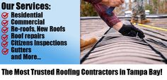 For the experienced roofing services hire  #BestTampaRoofingContractors. To know more visit the mentioned link.