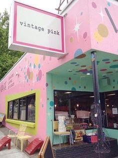 Vintage Pink vintage shopping | Portland Oregon travel guide | Girlfriend is Better