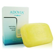 Adovia Sulfer soap. I use it for baby wash and for face wash, Love the soothing soft skin feeling it promotes!