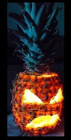 Pineapple Jack O' Lantern
