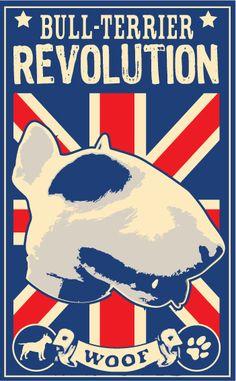 affiche bull-terrier by ~SDZN on deviantART