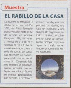 """La revista argentina """"Buenas Ideas"""" propone un recorrido sobre """"El rabillo de la casa 2″ que se extiende hasta el 12 de octubre en Abralux."""