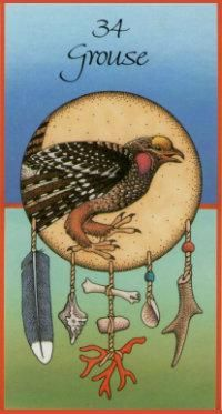 Grouse... of the Sacred Spiral, Leading us on, To reach the everlasting heights, Where we can live as one. (SACRED SPIRAL)