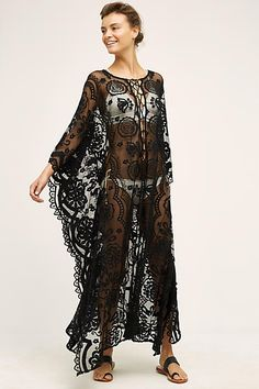 yes please, over the tiny little bulk dress i found at the thrift store! Boracay Lace Caftan