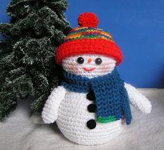 Snow Family PDF Crochet Pattern
