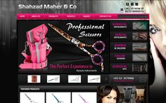 Shahzad Maher & Co. is a Pakistan based manufacturing company deals in Barber Scissor/Barber shears & Beauty care instruments. This website is designed and developed with dynamic features inside.