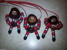 BRUTUS the Buckeye Necklace OHIO STATE Ornament/Christmas Nuts Football BUCKS!! #OhioStateBuckeyes
